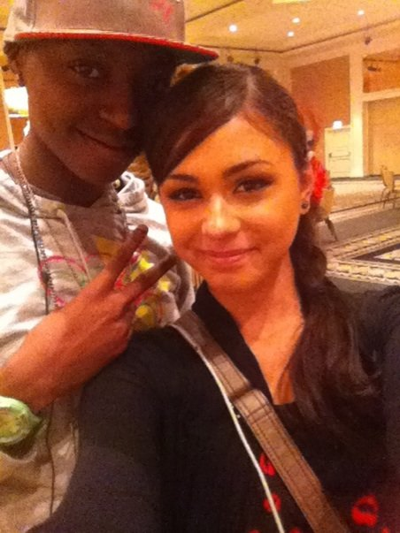 Deborah!! Or as I like to call her, my big sister! #TeamXtina