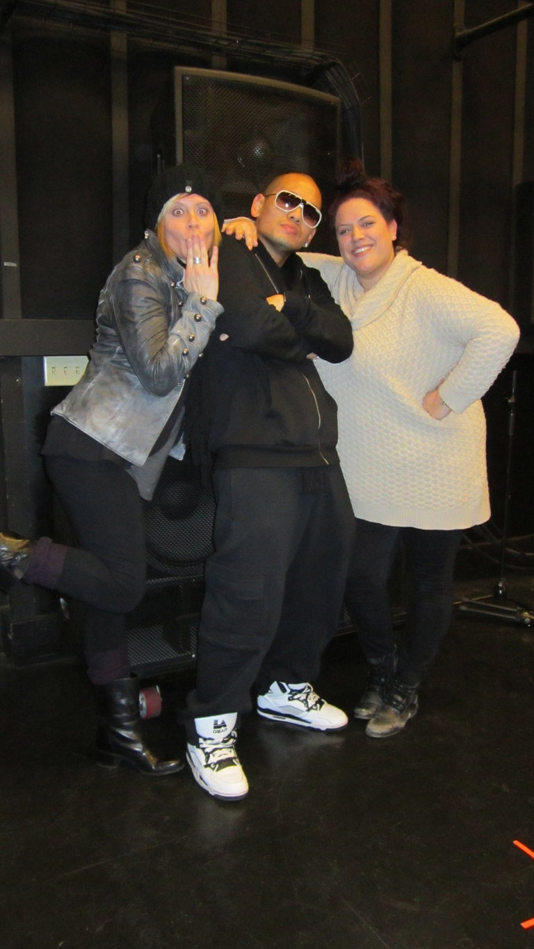 Erin and Me with Yannus our choreographer