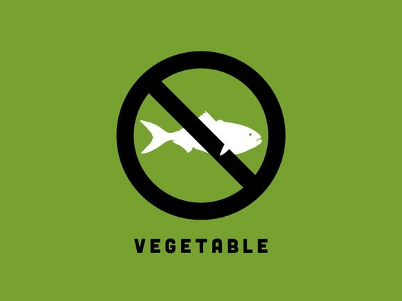 Fish = Vegetable