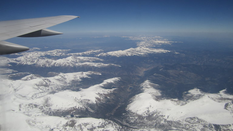 Flying to Cali is so beautiful!
