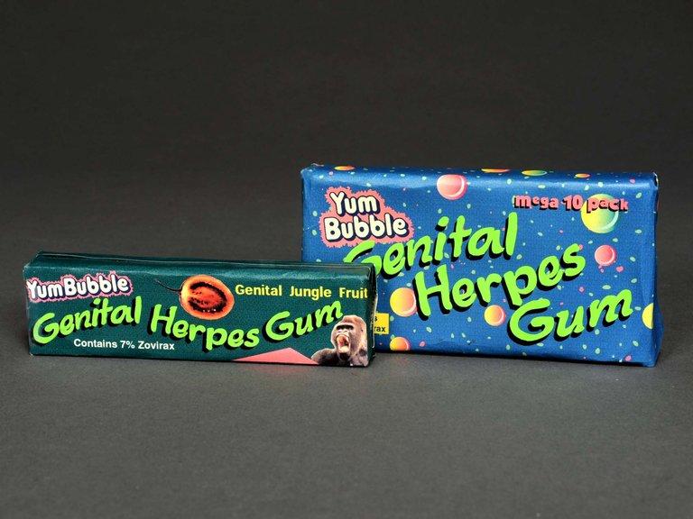 Genital Herpes Gum