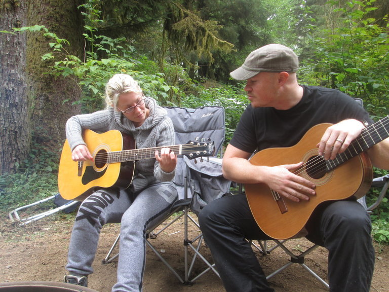 Guitar lessons in the Redwoods