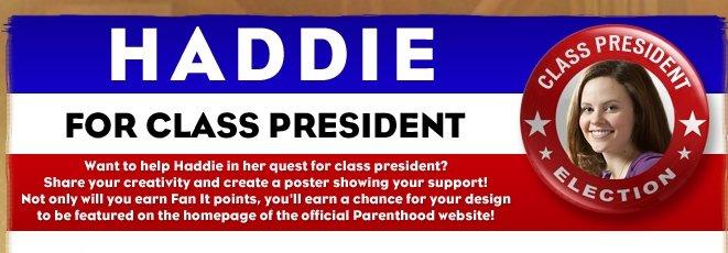 Haddie for Prez