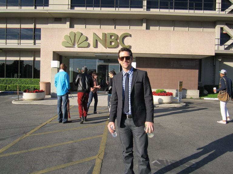 Heading to NBC!!!