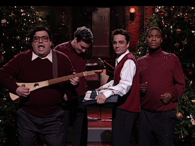 Horatio, Jimmy, Chris, and Tracy