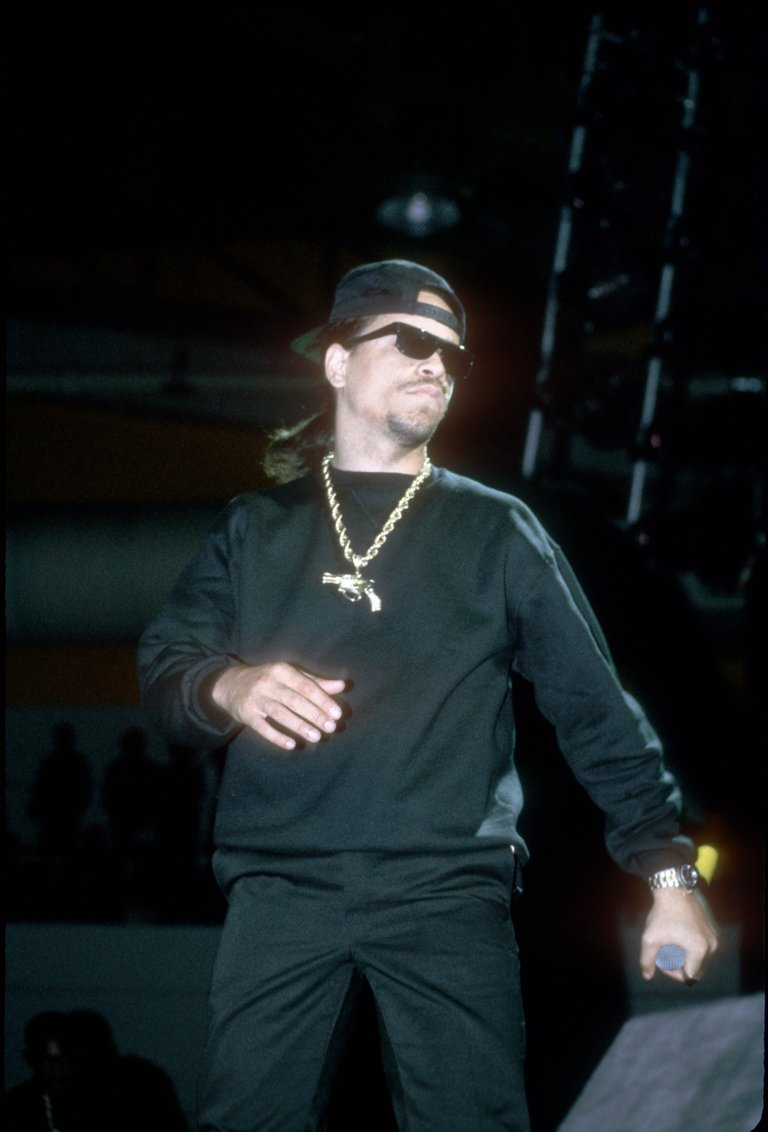 Ice T Performing In Chicago