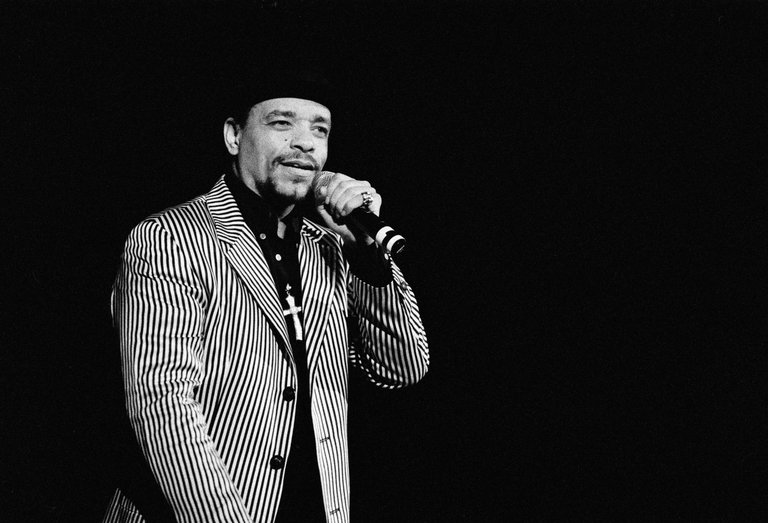 Ice T Performs In Los Angeles