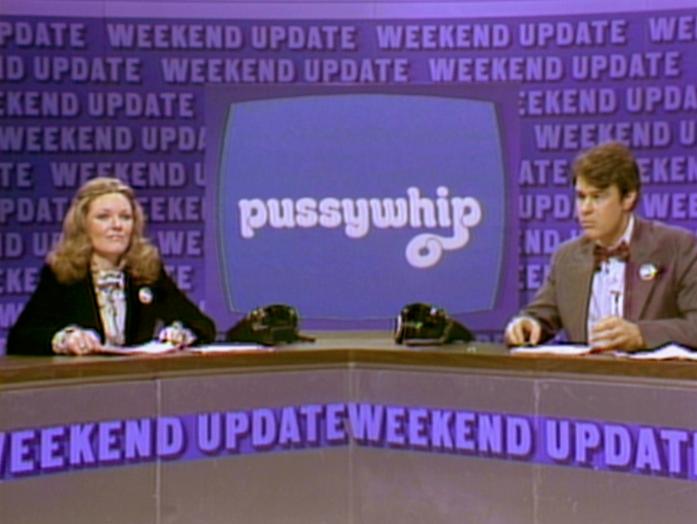 Jane Curtin and Dan Aykroyd