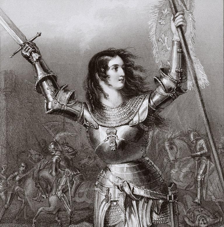 Joan of Arc 1412 1431 aka Jeanne d Arc or Jeanne la Pucelle French heroine