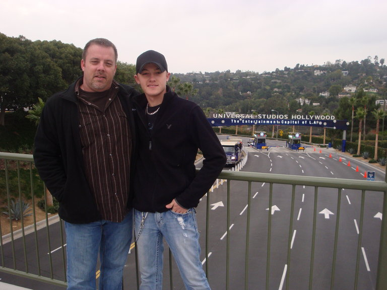 Jordan & his daddy
