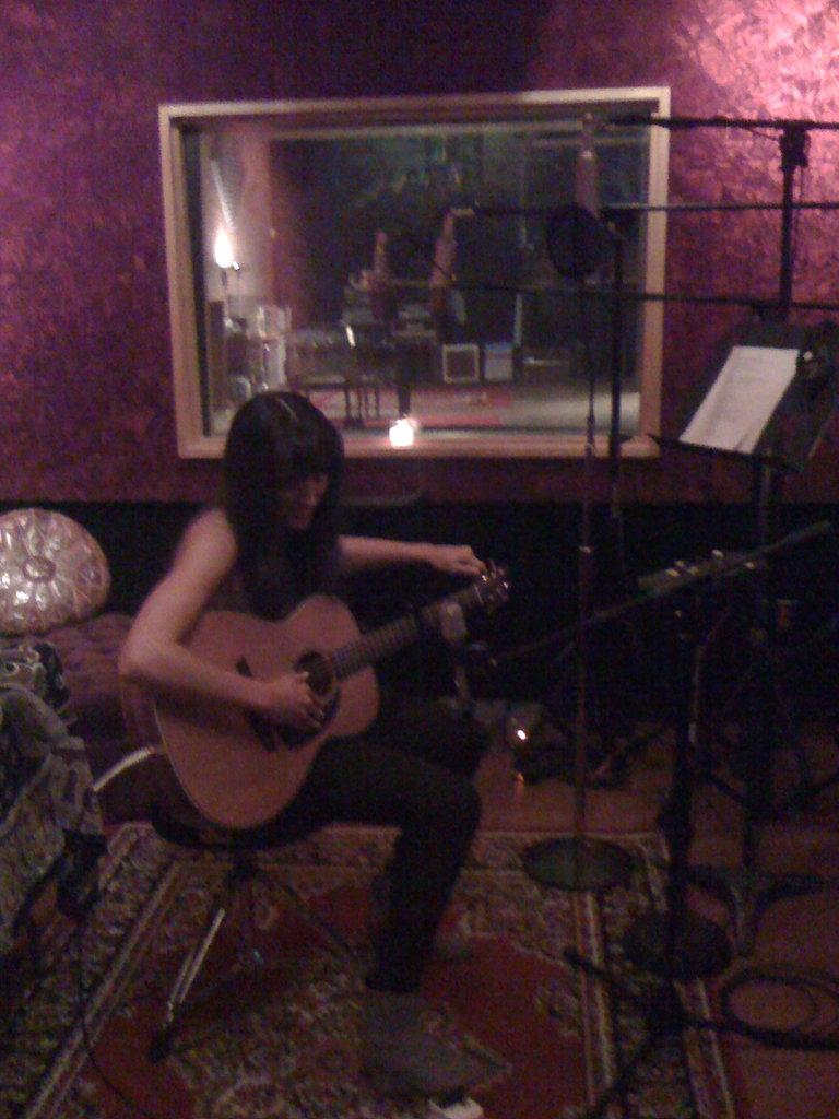 Karla recording!
