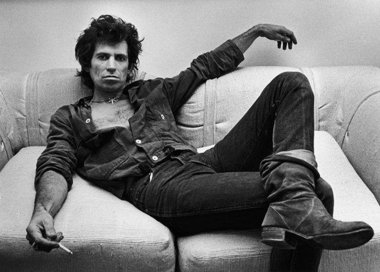 Keith Richards Portrait Session