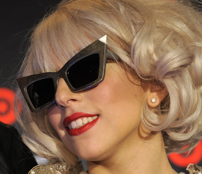 Lady Gaga poses September 30, 2009, for
