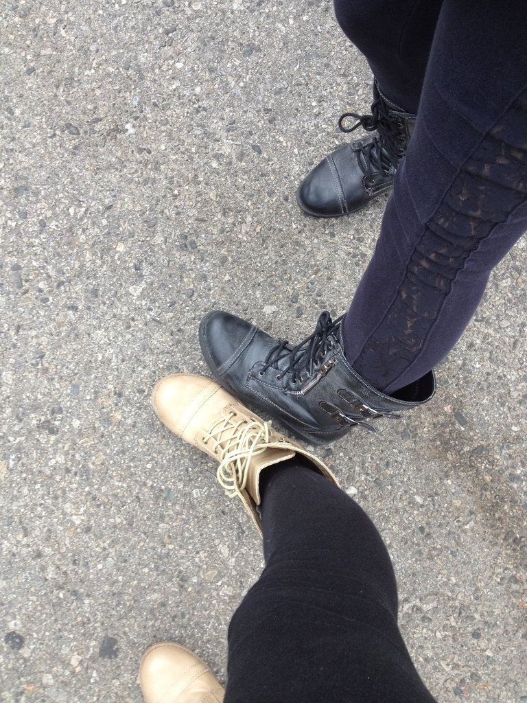 Lisa Scinta has the same boots as me! I love it. :)