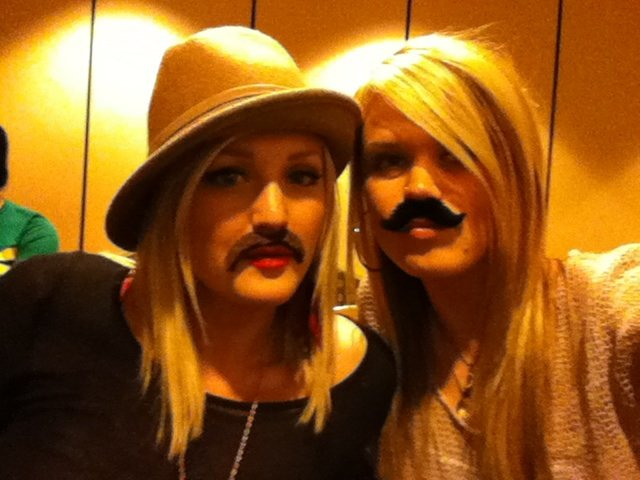 MORE MUSTACHES