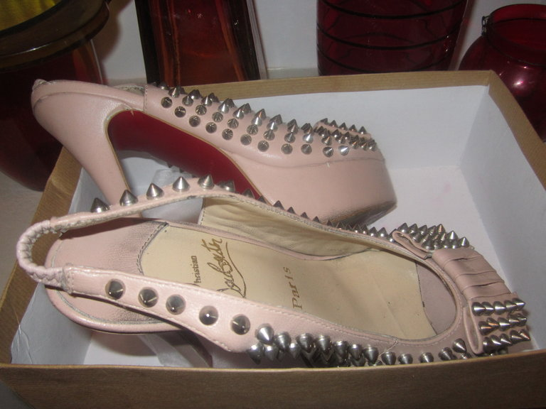 MY LUCKY LOUBOUTINS..EVERY DIVA NEEDS A PAIR ;-)