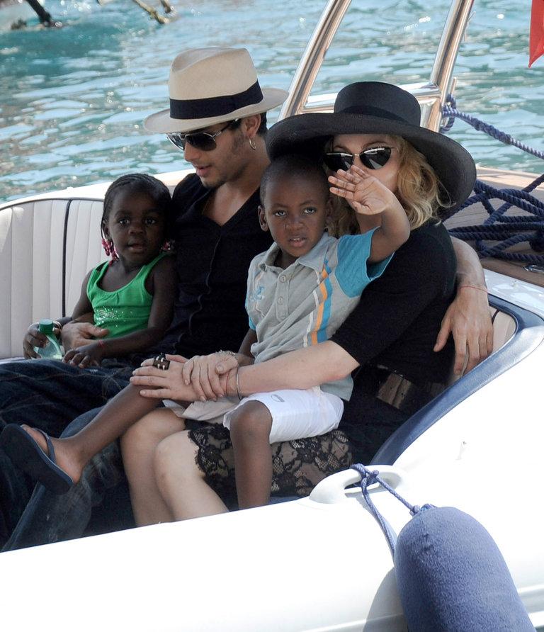Madonna Sightings In Portofino -  August 17, 2009