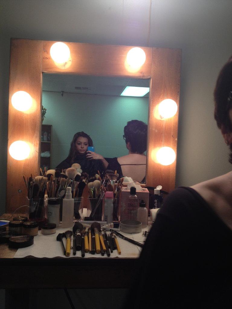 Makeup, make me look alive!