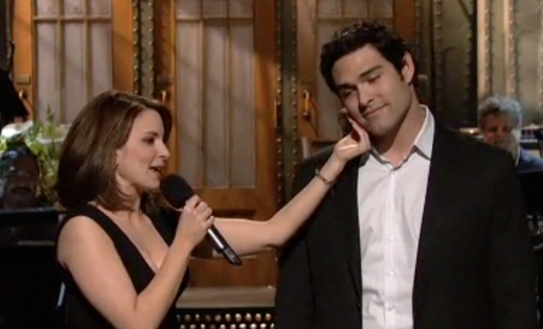 Mark Sanchez in the Tina Fey monologue