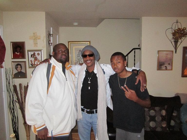 Me & my nephews, Damien & Devontae