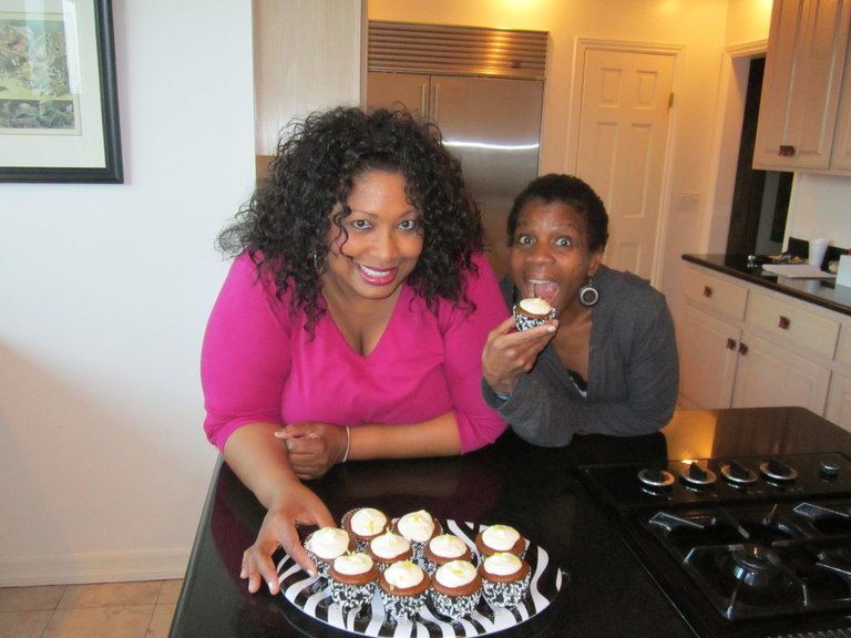 Me Ollie and Cupcakes!