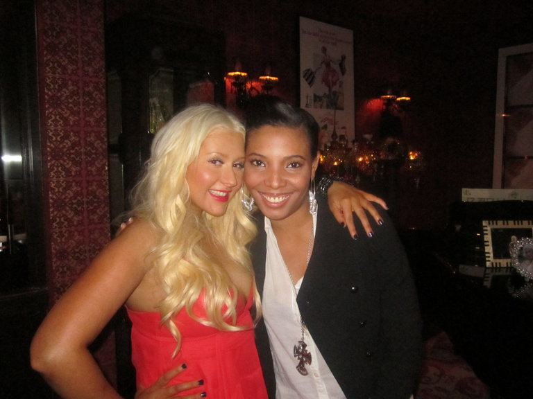 Me and  the lovely Xtina!!