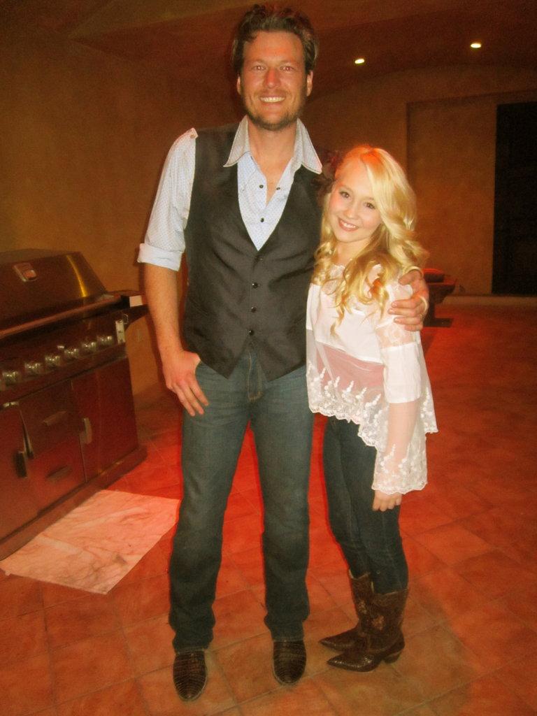 Me and Blake!