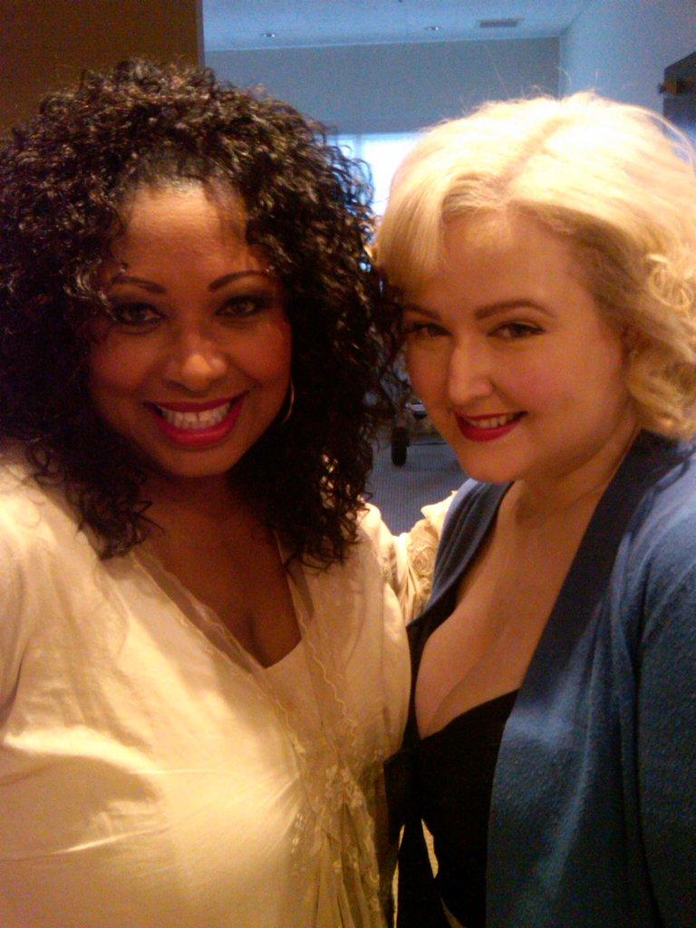 Me and Katrina Parker at the NBC Press Junket