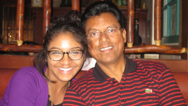 Me and my sweet daddy-o!