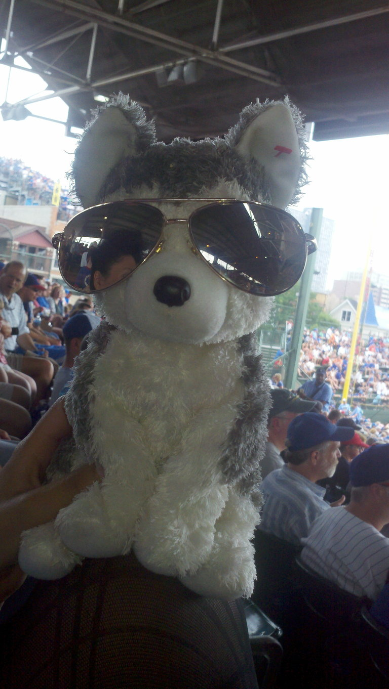 Meet Slush! @SlushTheLush #CubsFan