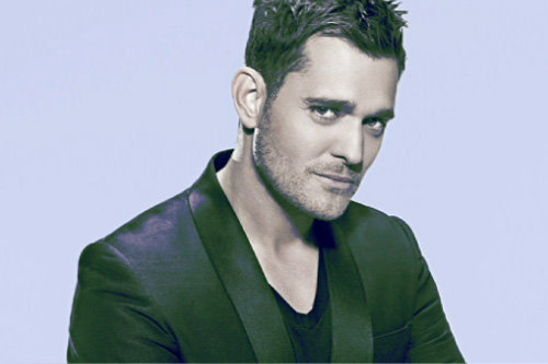 Michael Buble photo bumper