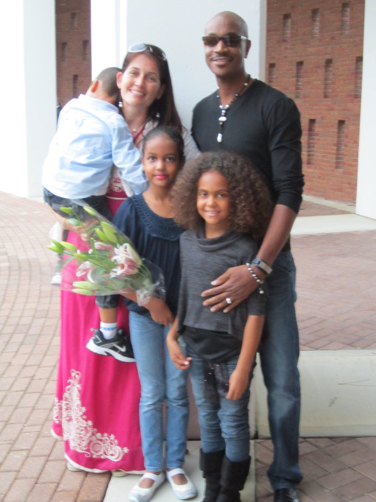 My family, after my daughter's performance