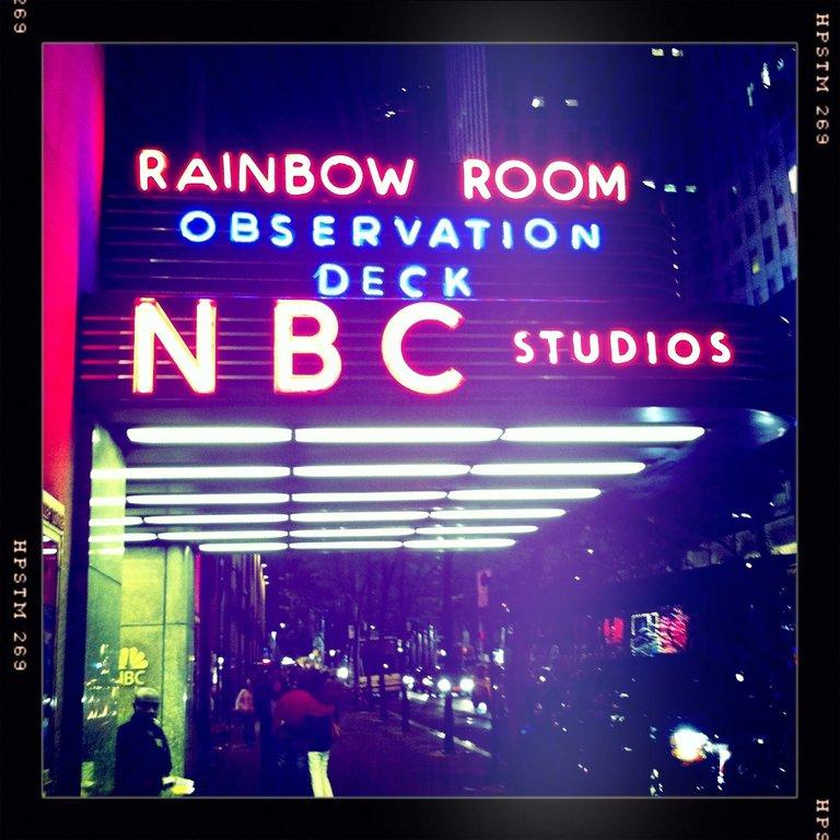 NBC 30 Rock Sign
