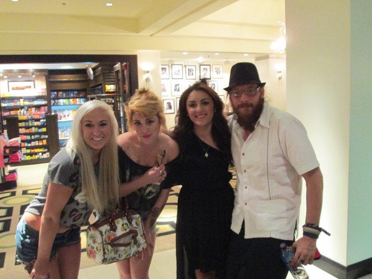 Nicholas, Gracia, and Caitlin
