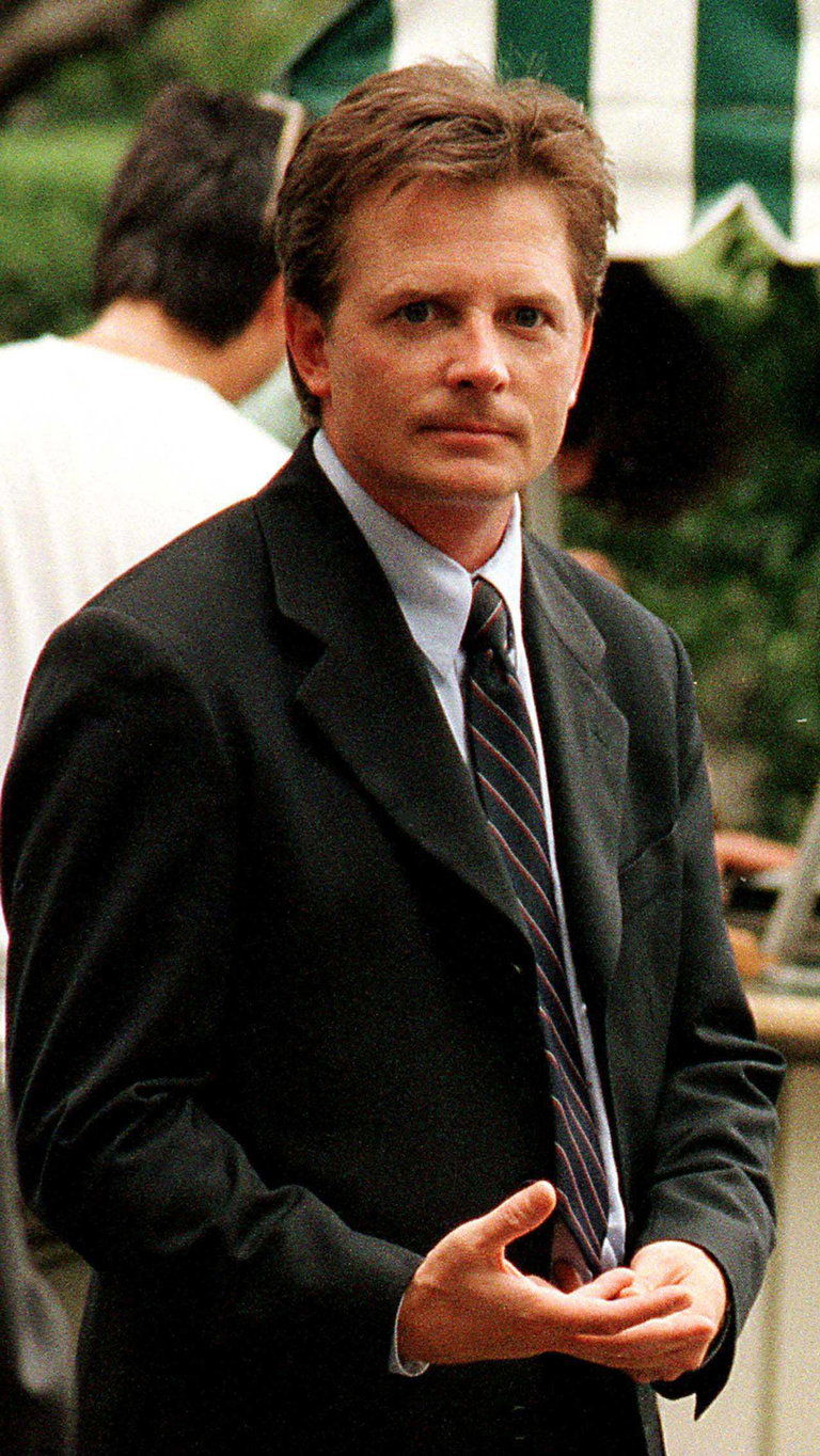 """Spin City"" Michael J Fox Filming NYC - Butler/Online"