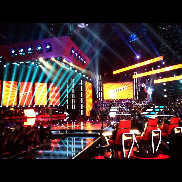 Our beautiful stage!