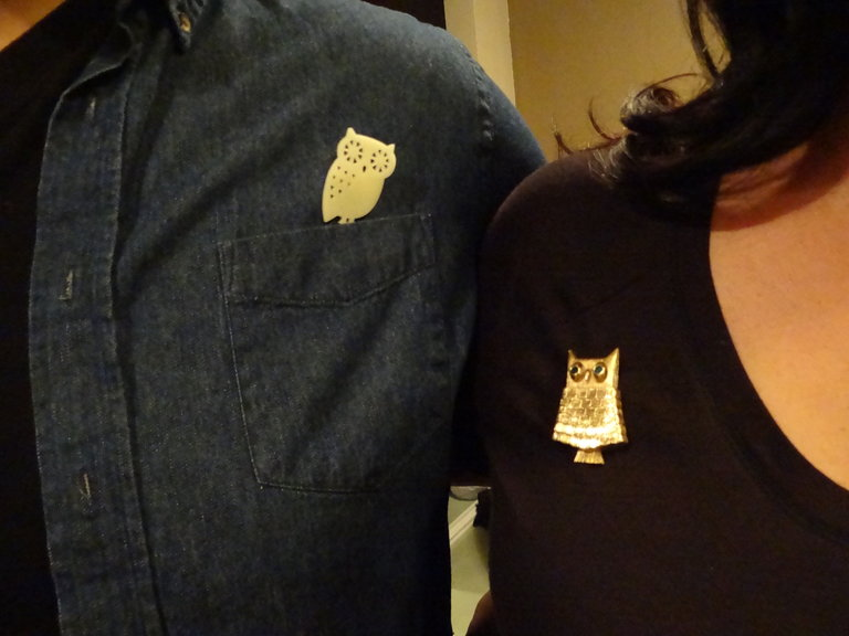 Owl Pins! Hoot!