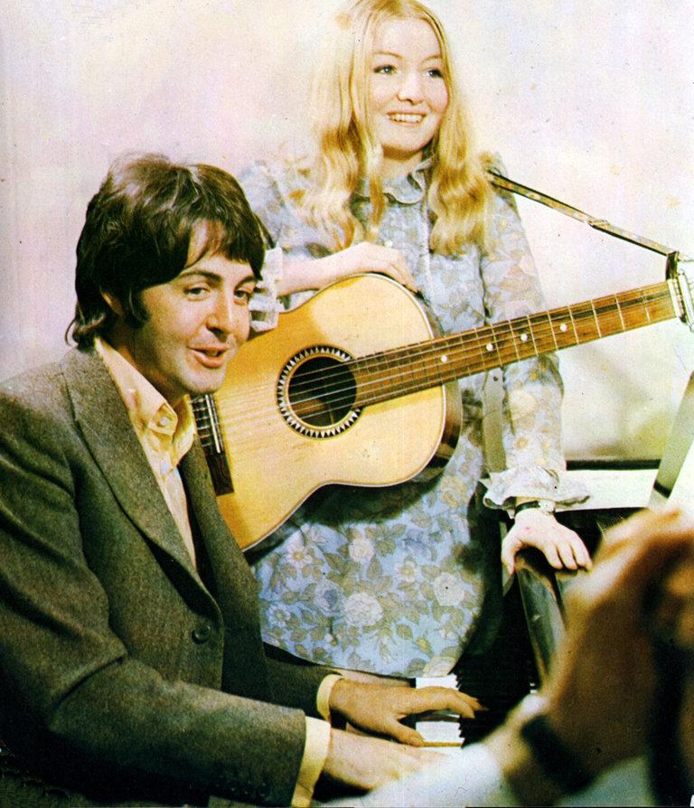 Paul McCartney And Mary Hopkin