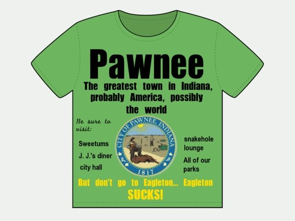 Pawnee, the Greatest Town in Indiana