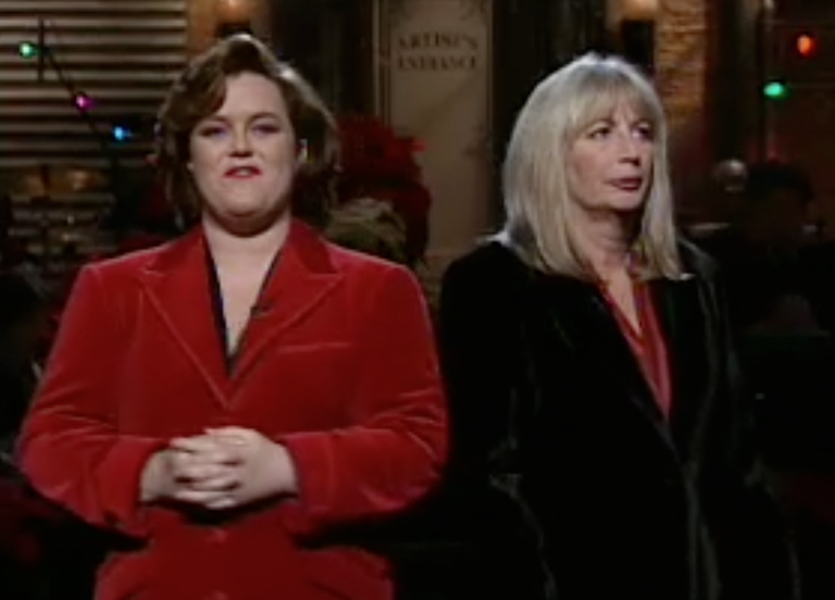 Penny Marshall during the Rosie O'Donnell monologue