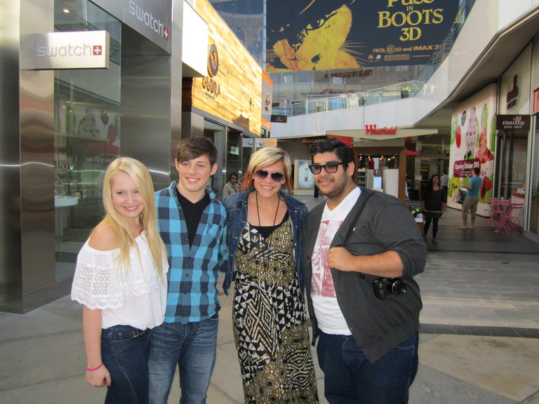 Rae Lynn, Austin, Me & Daniel