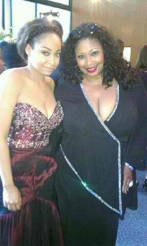 Raven Symone and Kim Yarbrough