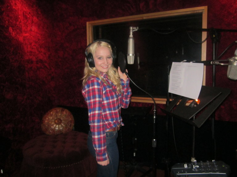 "Recording ""Hell on Heels"" for iTunes"