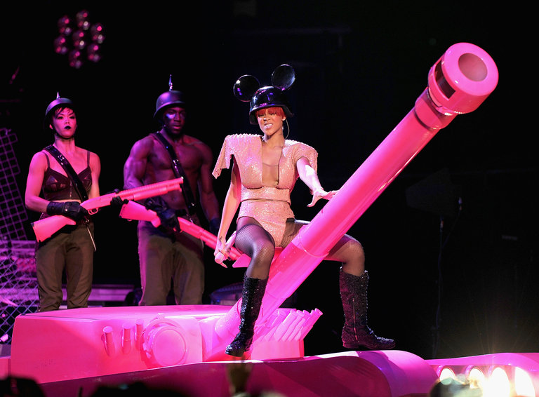 Rihanna & Ke$ha In Concert - August 12, 2010