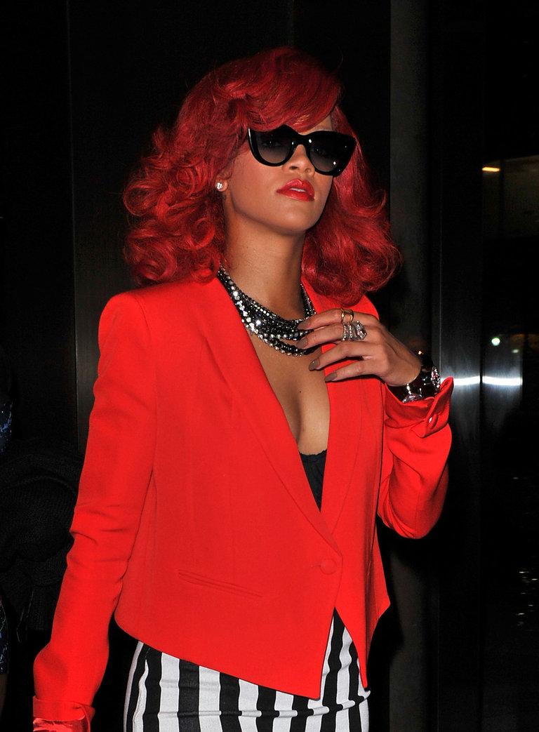 Rihanna Sighting In New York City - September 28, 2010