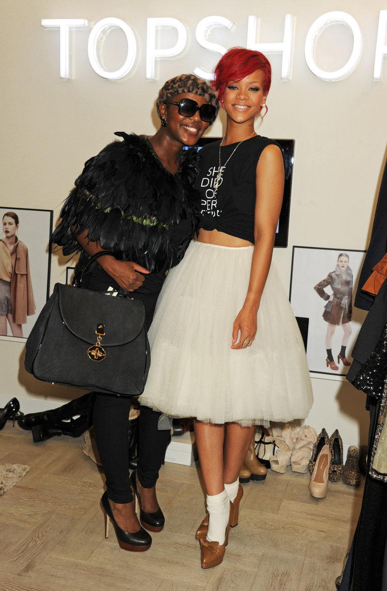 Rihanna Styles Competition Winners At Topshop