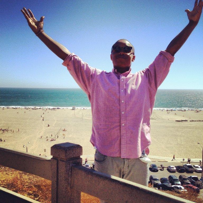 Santa Monica Beach!