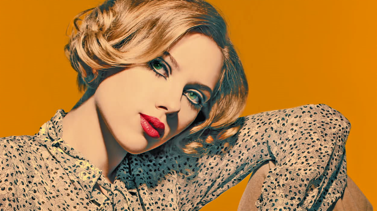 Scarlett Johansson Bumper Photo
