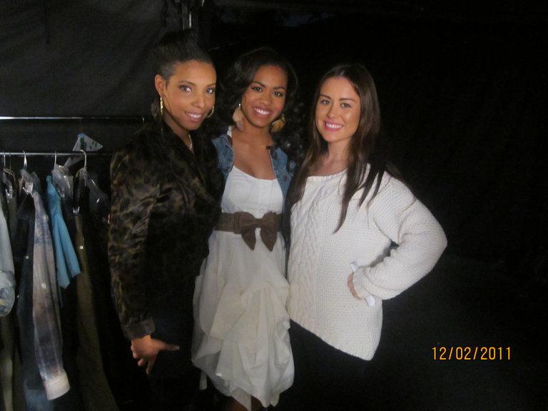 Sera, me and Jennifer :)