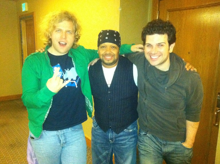 Shields Brothers with Romeo Johnson